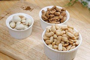 Mandeln oder Walnüsse zur Gewichtsreduktion